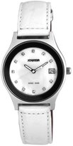 Jowissa Women's J4.101.L Siena Stainless Steel Mother-Of-Pearl Dial White Watch