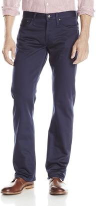 The Unbranded Brand Men's UB308 Straight Navy Selvedge Chino