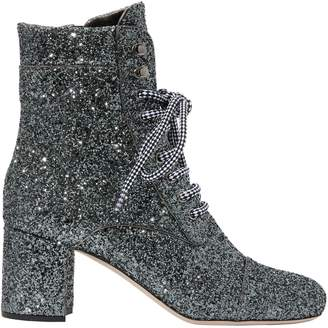 Miu Miu Sequinned ankle boots