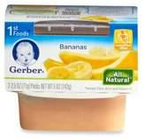 Gerber 1st Foods 2-Pack 2.5 oz. Baby Food Bananas