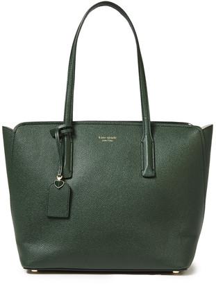 Kate Spade Margaux Medium Pebbled-leather Tote