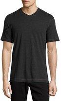 Robert Graham Nomads V-Neck T-Shirt, Heather Charcoal