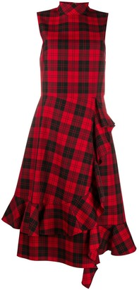 Mulberry Pollie tartan dress