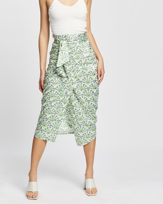 NEVER FULLY DRESSED Paisley Jaspre Skirt
