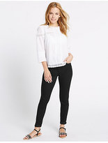 M&S Collection PETITE Mid Rise Super Skinny Jeans