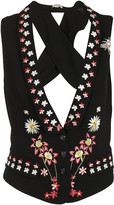 Temperley London Juniper Cross Back Vest