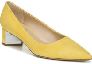 Franco Sarto Global Block Heel Pumps Women's Shoes