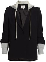 Thumbnail for your product : Cinq à Sept Khloe Hooded Blazer Jacket