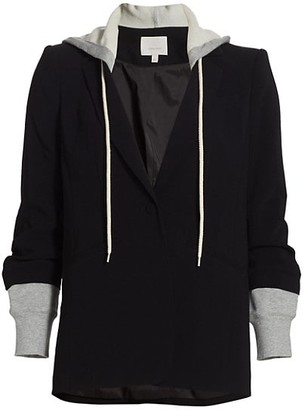 Cinq à Sept Khloe Hooded Blazer Jacket