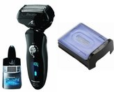 Panasonic Arc5 Electric Razor ES-LV81-K with Automatic Cleaning Cartidge and Inner/Outer Replecement Blades Included