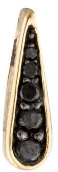 Alison Lou 14K Diamond Twister Spinner Stud Earring
