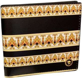 Versace Gold / Black Leather Small bags, wallets & cases