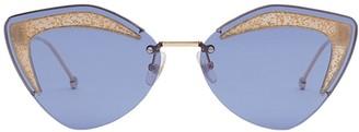 Fendi Eyewear Glass sunglasses