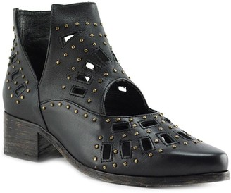 Sbicca Cut-Out Leather Studded Ankle Boots- Maryess