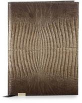 Brahmin Marney Sable Lizard Leather Journal