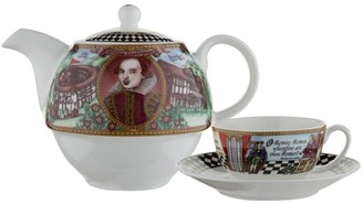 Halcyon Days Shakespeare Tea For One Set