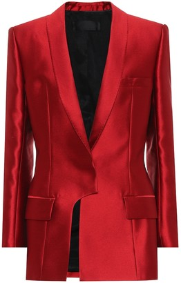 Haider Ackermann Hourglass satin jacket