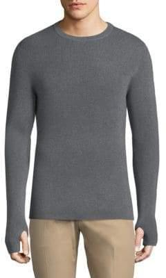 Theory Heathered Wool Sweater