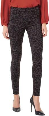 Liverpool Print Super Skinny Knit Pants