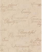 Graham & Brown Wallpaper Sample - Script Gold