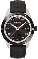 Montblanc 116059 Timewalker Automatic Date Rubber Strap Watch, Black
