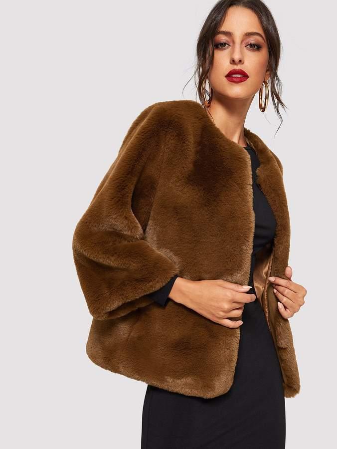5456705395 Faux Fur Teddy - ShopStyle