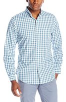 Dockers Long Sleeve No Wrinkle Signature Men's Gingham Button Down Collar Shirt