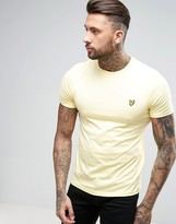 Lyle & Scott Eagle Logo T-Shirt Regular Fit in Yellow