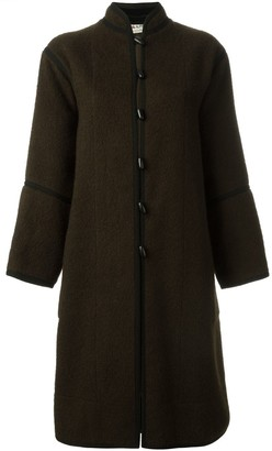 Yves Saint Laurent Pre Owned Toggle Coat