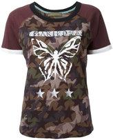 Valentino Mariposa Camustars T-shirt - women - Cotton - M