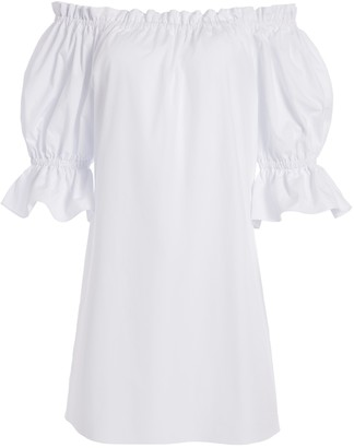 Alice + Olivia Paola Off Shoulder Mini Dress