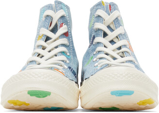 Converse Blue Golf Wang Edition Chuck 70 High Sneakers