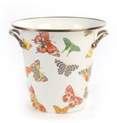 Mackenzie Childs MacKenzie-Childs White Butterfly Garden Wine Cooler