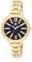 Adrienne Vittadini Goldtone Bracelet Watch