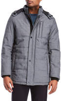Perry Ellis Quilted Hooded Coat