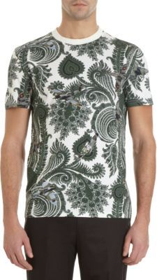 Givenchy Fighter JetPaisley Tee