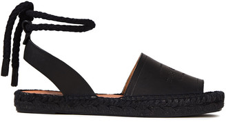 Rag & Bone Estelle Logo-debossed Leather Espadrille Sandals