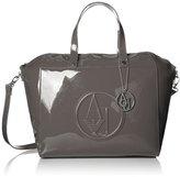 Armani Jeans RJ Large Zip Tote Top Handle Bag