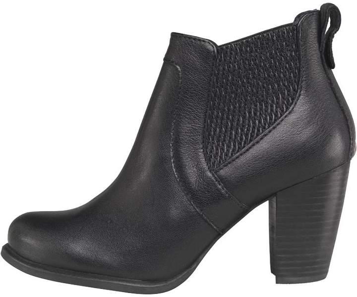 UGG Womens Cobie II Heeled Ankle Boots Black
