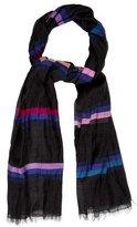 Sonia Rykiel Multicolor Striped Scarf
