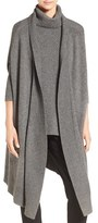 BOSS Women's 'Farela' Wool & Cashmere Drape Front Cardigan