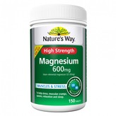 Nature's Way High Strength Magnesium 600mg 150 tablets