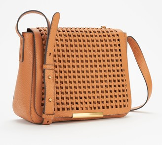 Vince Camuto Leather Flap Crossbody Bag - Hope