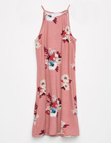 Full Tilt Hi Neck Floral Girls Dress