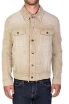Christian Dior Men's Corduroy Trucker Jacket Beige