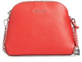 MICHAEL Michael Kors Michael By Michael Kors Medium Mercer Leather Dome Satchel - Red
