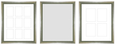 PTM Images Felicity Gallery Wall Mirrors & Photo Collages (Set of 3)