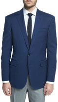 Ralph Lauren Anthony Trim-Fit Solid Wool Blazer, Navy