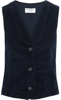 Frame Le Waist Coat Corduroy Vest - Navy
