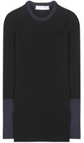 Victoria Beckham Knitted Cotton-blend Sweater